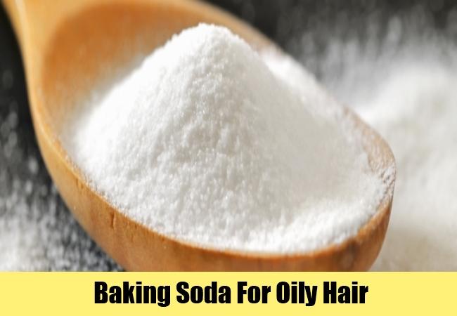 Baking Soda For Oily Hair