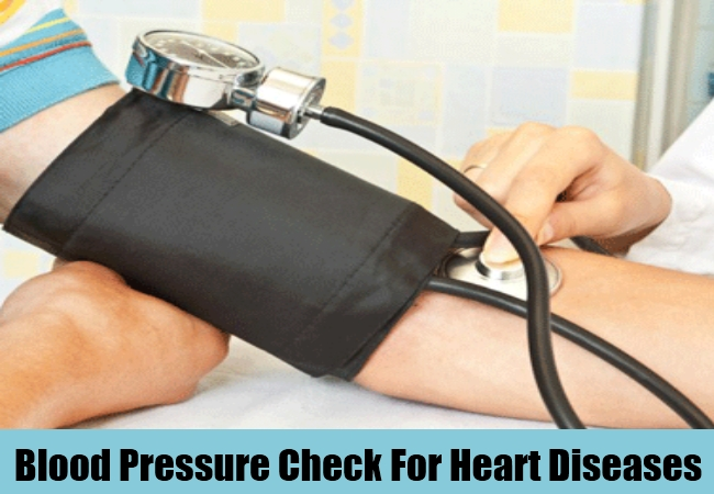 Blood Pressure Check For Heart Diseases