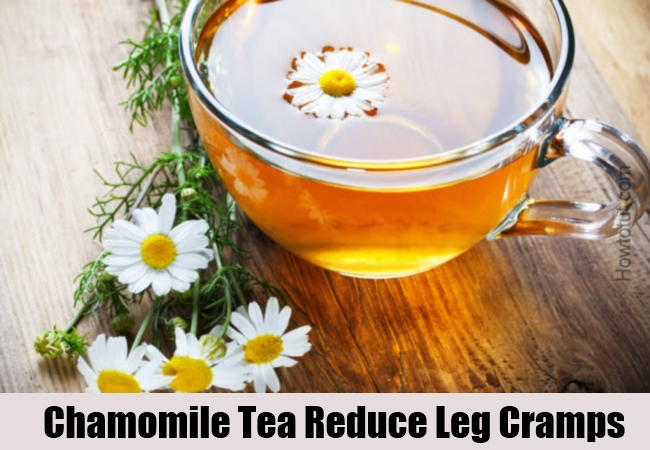 Chamomile Tea Reduce Leg Cramps
