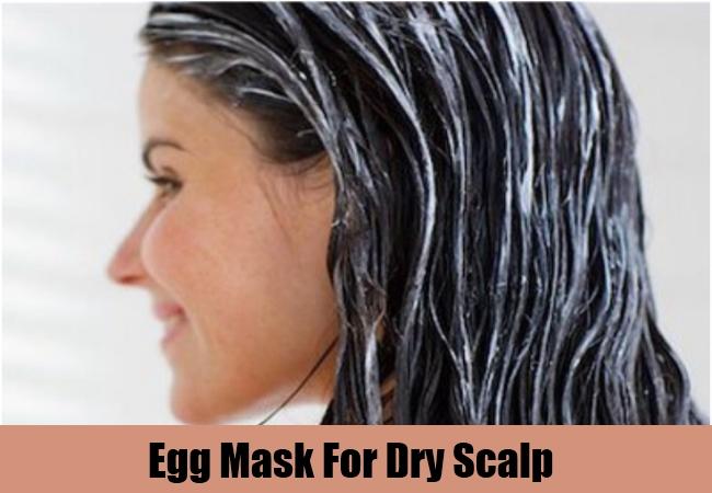 Egg Mask For Dry Scalp