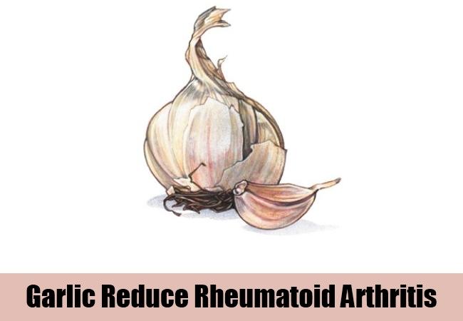 Garlic Reduce Rheumatoid Arthritis