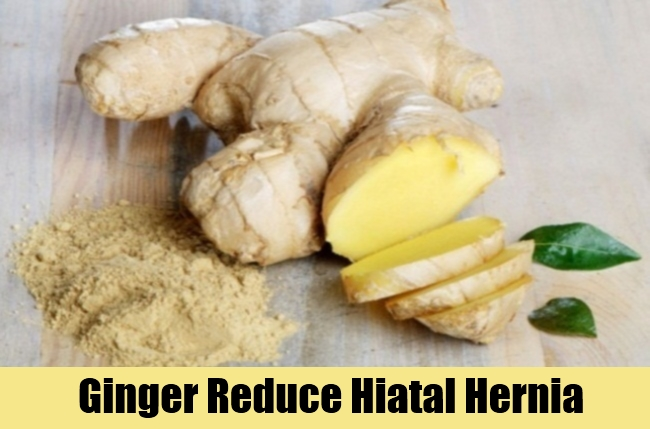 Ginger Reduce Hiatal Hernia