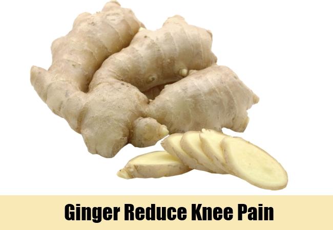Ginger Reduce Knee Pain