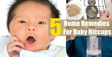 Home Remedies For Baby Hiccups
