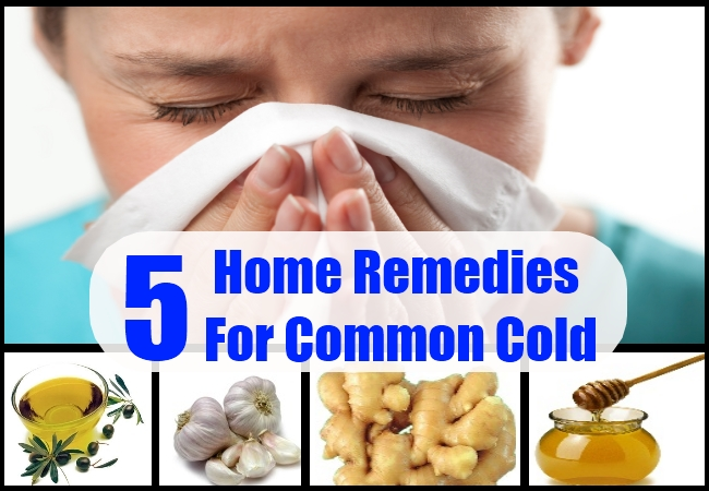 Home Remedies For Common Cold