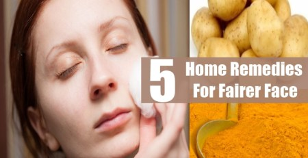 Home Remedies For Fairer Face