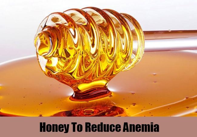 Honey To Reduce Anemia