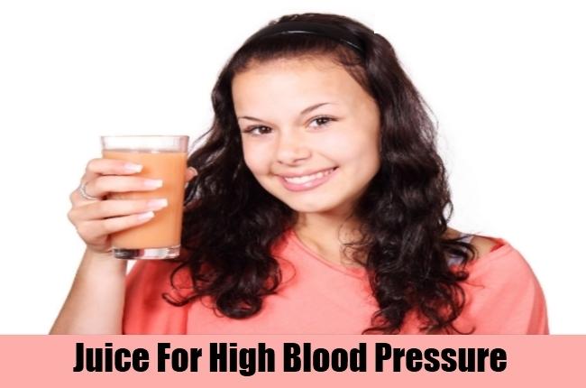 Juice For High Blood Pressure