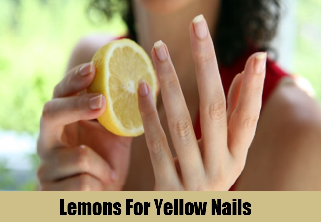 Lemons For Yellow Nails