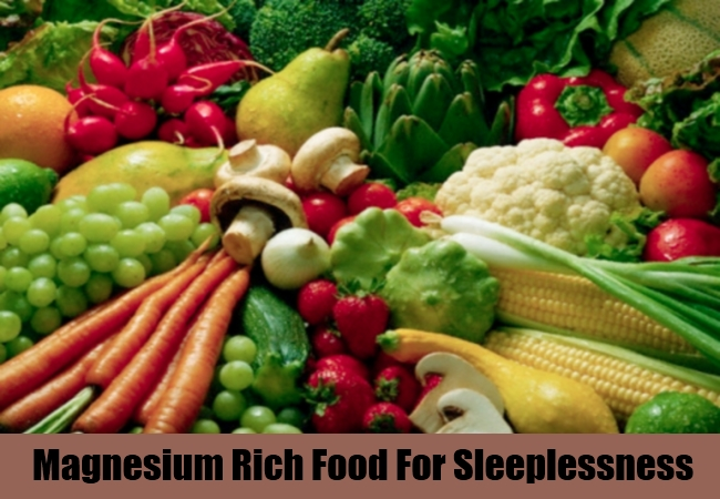 Magnesium Rich Food For Sleeplessness