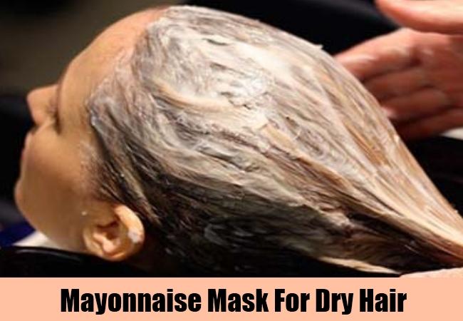 Mayonnaise Mask For Dry Hair
