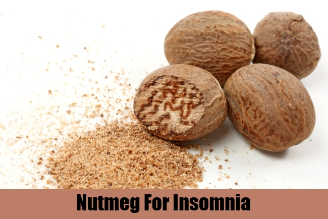 Nutmeg For Insomnia