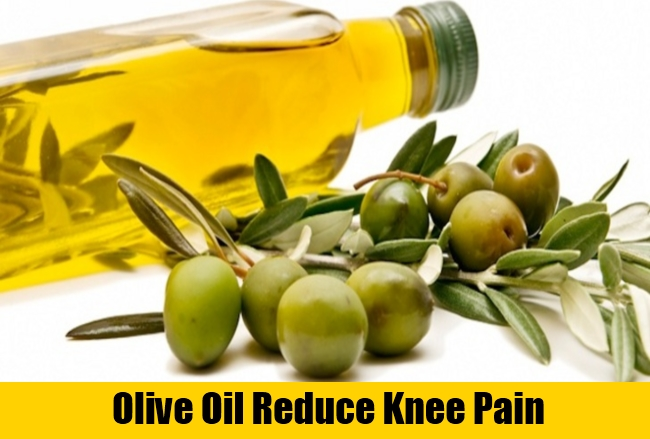 Olive Oil Reduce Knee Pain