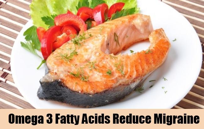 Omega 3 Fatty Acids Reduce Migraine