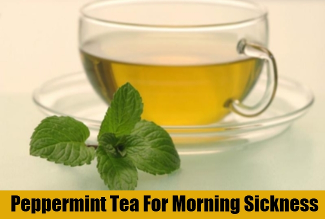 Peppermint Tea For Morning Sickness