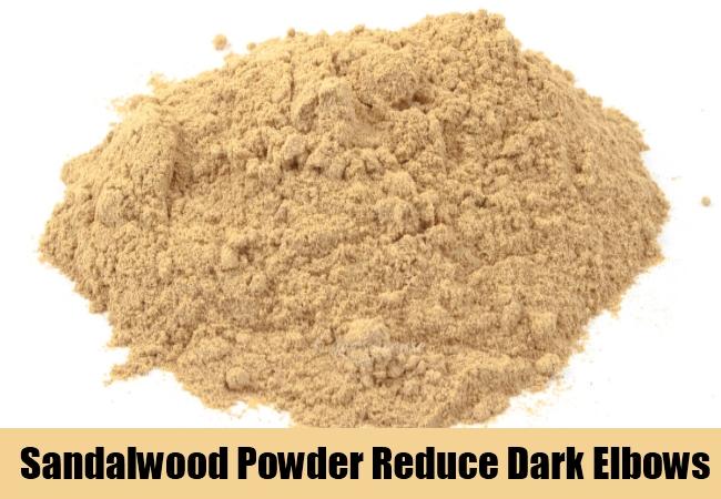 Sandalwood Powder Reduce Dark Elbows
