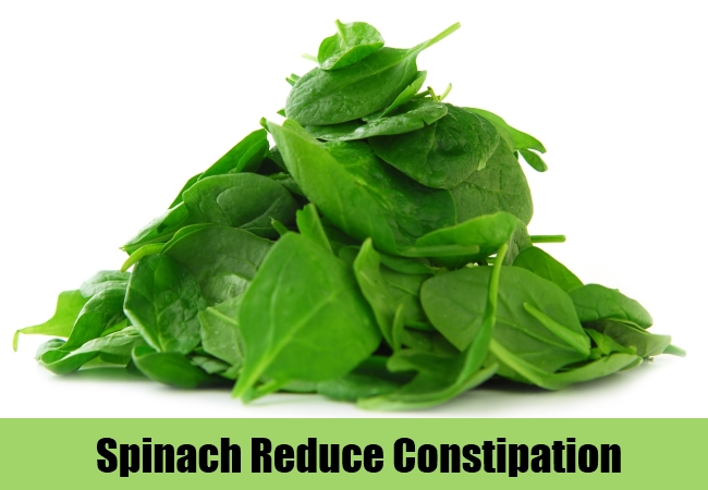 Spinach Reduce Constipation