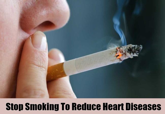 Stop Smoking To Reduce Heart Diseases