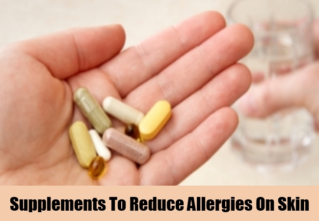 Supplements To Reduce Allergies On Skin