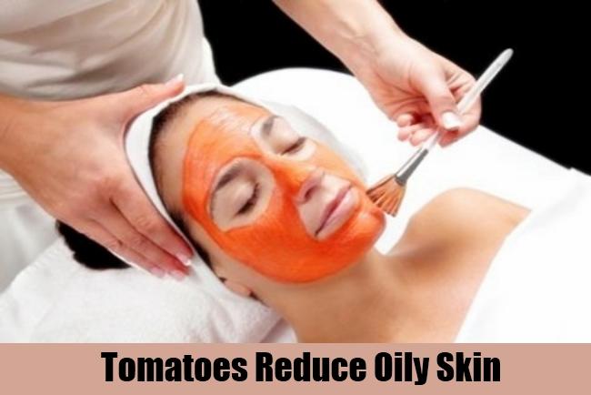 Tomatoes Reduce Oily Skin