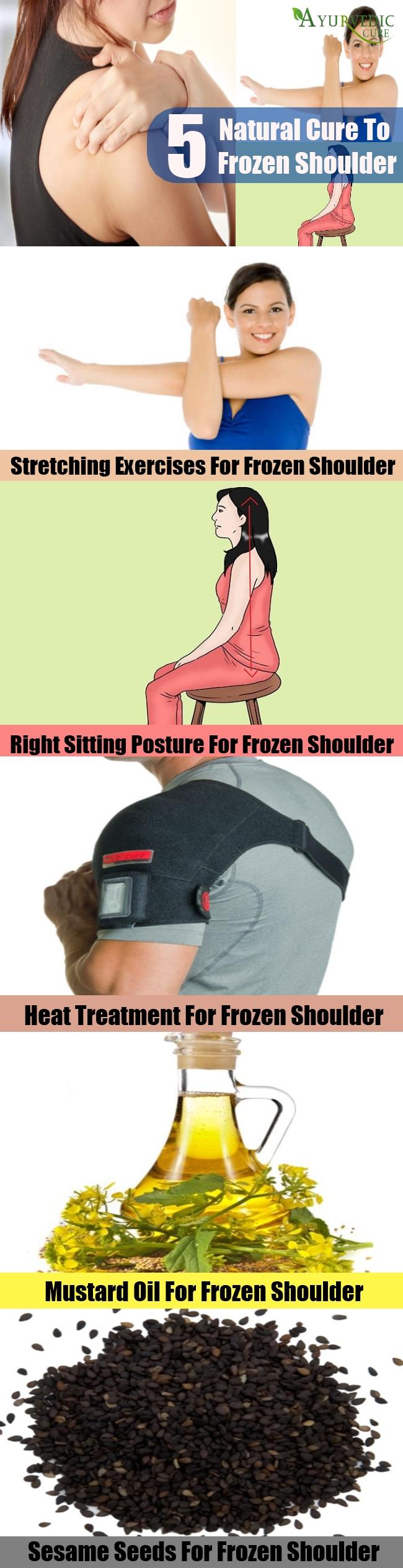 Top 5 Natural Cures For Frozen Shoulder