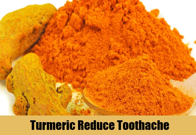 Turmeric Reduce Toothache