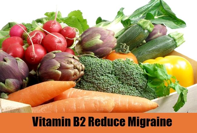 Vitamin B2 Reduce Migraine