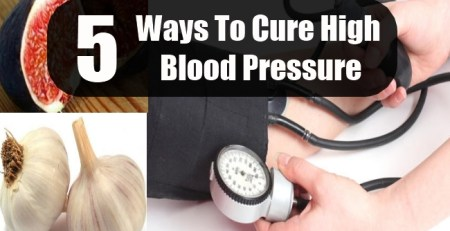 Ways To Cure High Blood Pressure