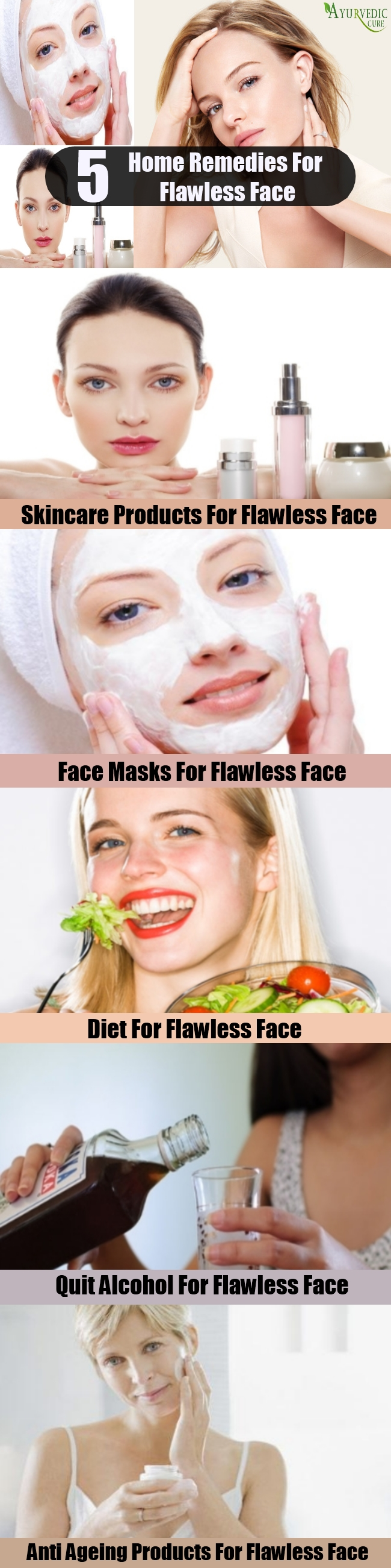 5 Home Remedies For Flawless Face