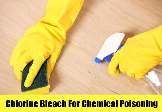 Chlorine Bleach For Chemical Poisoning