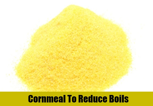Cornmeal To Reduce Boils