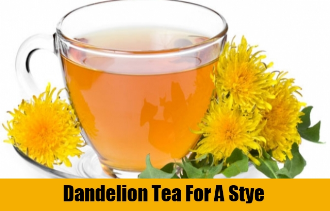 Dandelion Tea For A Stye