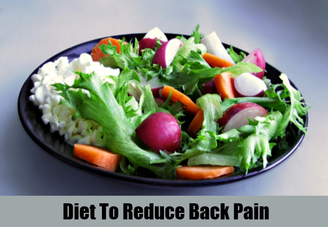 Diet To Reduce Back Pain