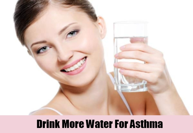 Drink More Water For Asthma