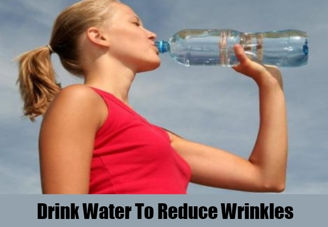 Drink Water To Reduce Wrinkles