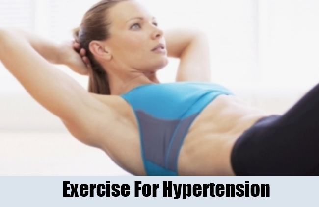 Exercise For Hypertension