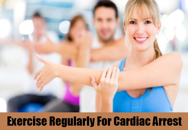 Exercise Regularly For Cardiac Arrest