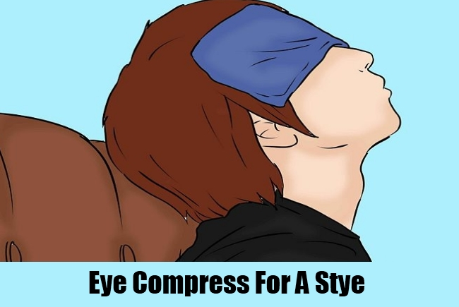 Eye Compress For A Stye