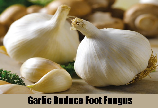 Garlic Reduce Foot Fungus
