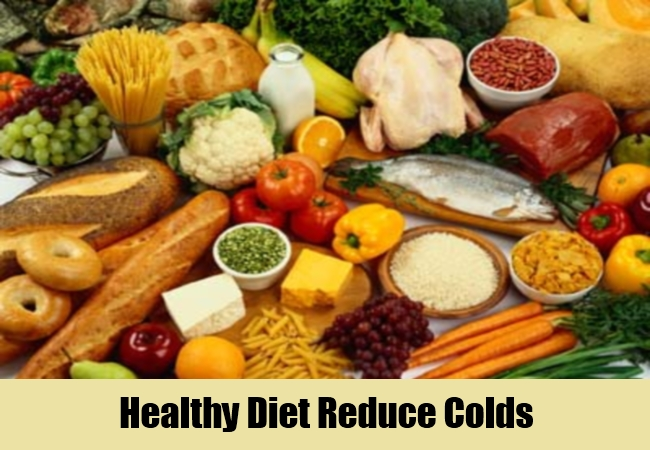 Healthy Diet Reduce Colds