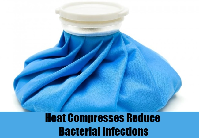 Heat Compresses Reduce Bacterial Infections