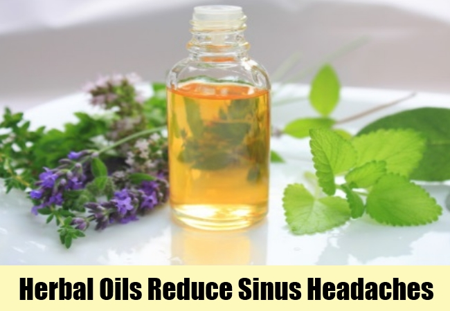 Herbal Oils Reduce Sinus Headaches