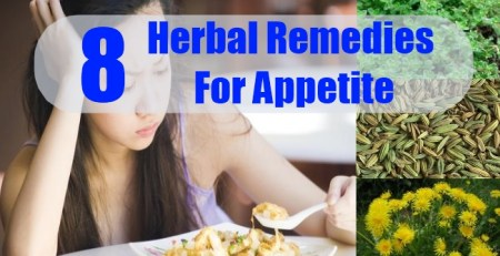 Herbal Remedies For Appetite