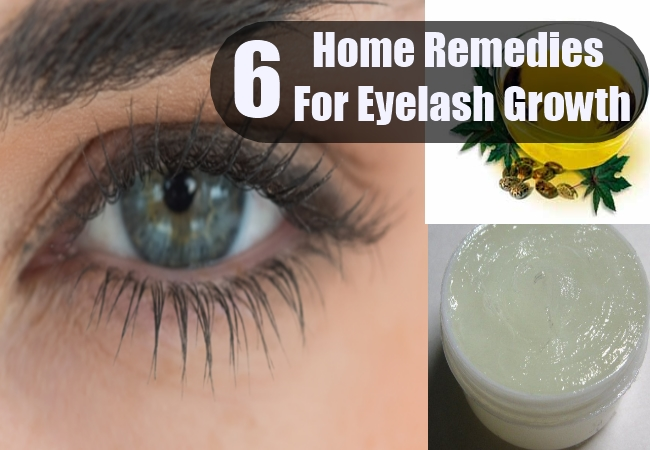 Grow Longer Eyelashes Using Home Remedies | Herbal Supplements