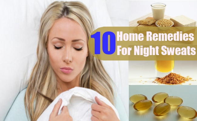Home Remedies For Night Sweats