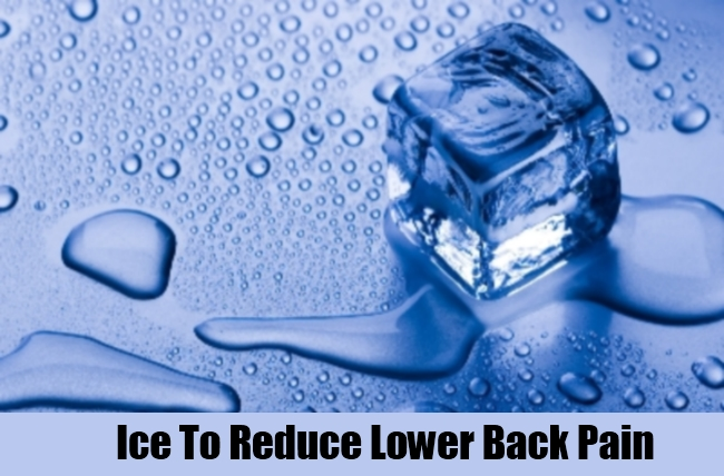 Ice To Reduce Lower Back Pain