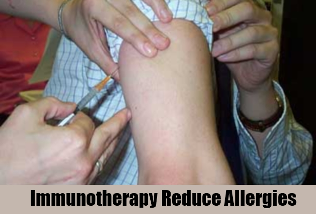 Immunotherapy Reduce Allergies