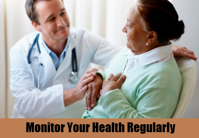 Monitor Your Health Regularly