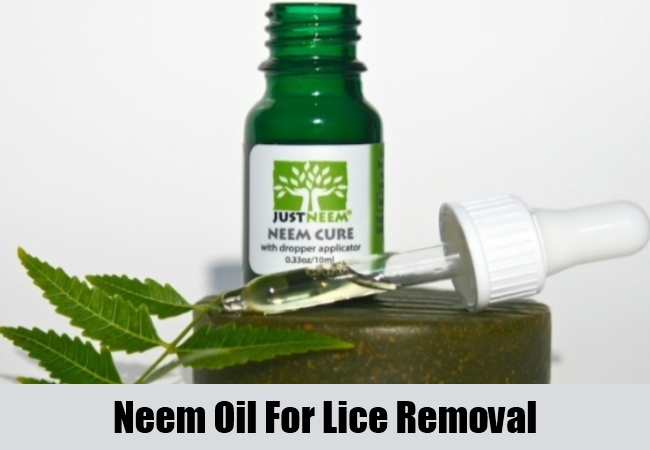 Neem Oil For Lice Removal