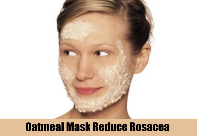 Oatmeal Mask Reduce Rosacea